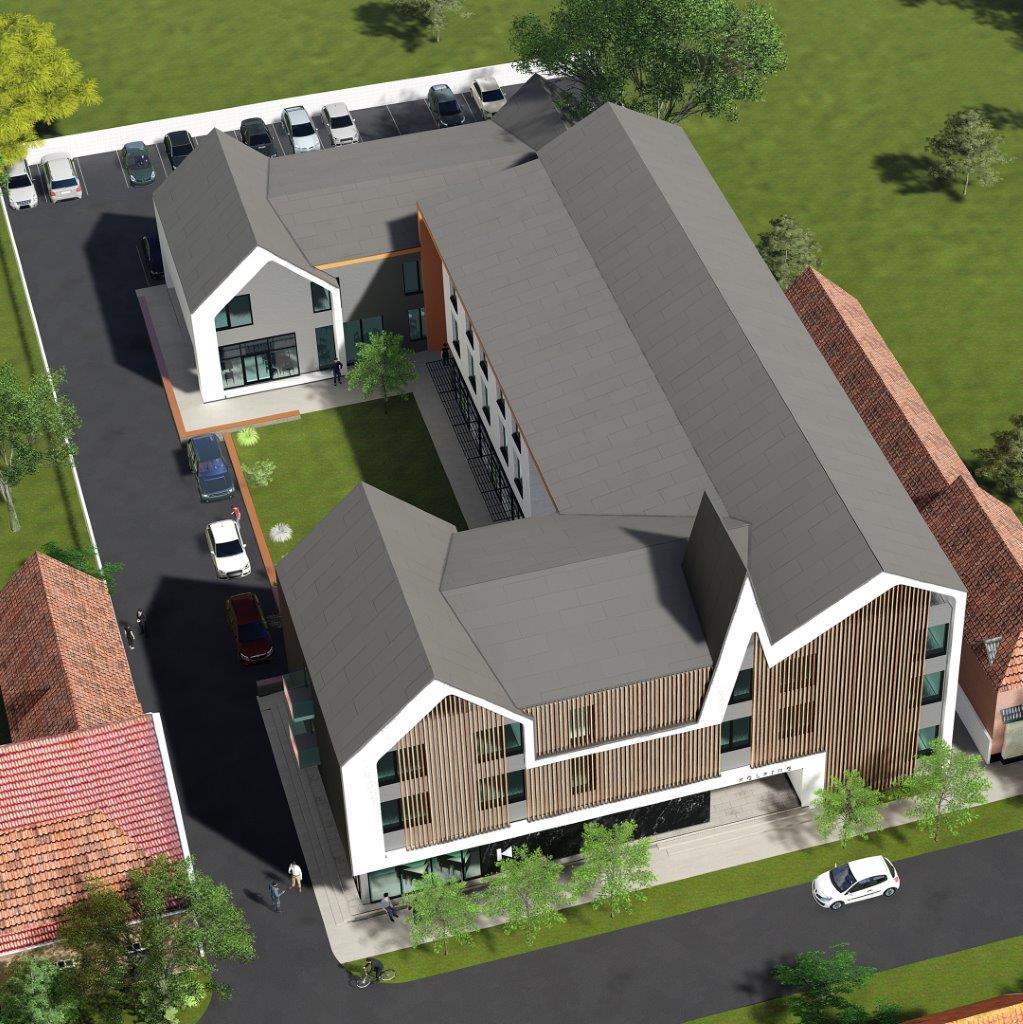 Plan Casa Calfelor Kolping Timisoara