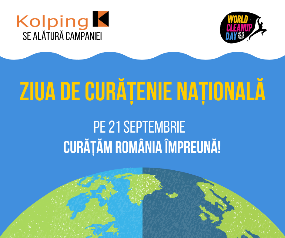 pe 21 septembrie curățăm românia împreună!